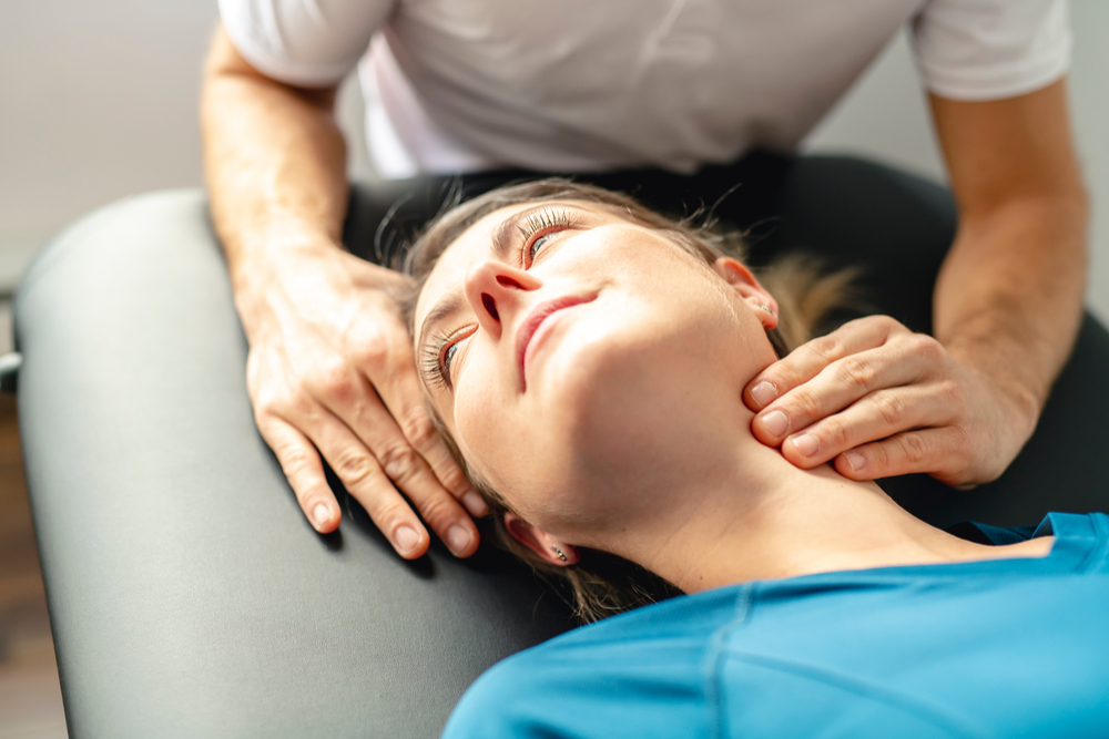 Neck pain treatment at Glebe Physio
